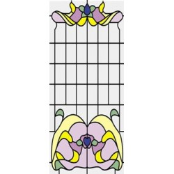 Stained Glass fits CLA75042/HW5042