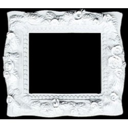 Silver Rectangle Picture Frame