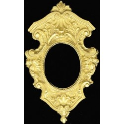 Gold Shield Picture Frame