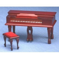 Mahogany Spinet Piano