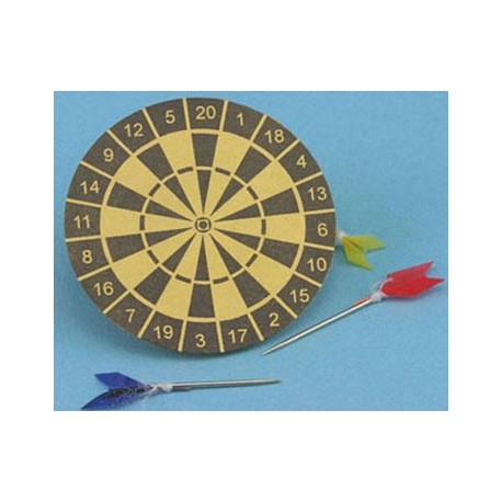 Dart Board in Tan