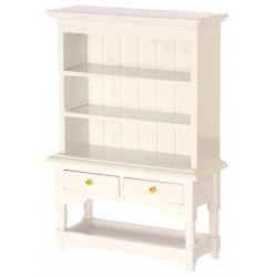 Miniature White Hutch