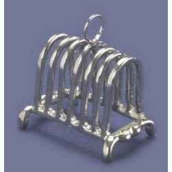 Silver Toaster Rack