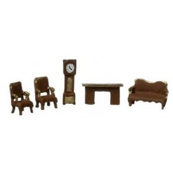 "1/144"" SCALE LIVING ROOM SET"