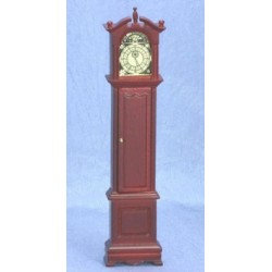 GRANDFATHER CLOCK, MAHOGANY