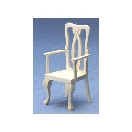 dollhouse fancy dining room chair miniature dining room