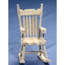 Unfinished Rocking Chair