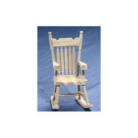 Attractive Unfinished Rocking Chair