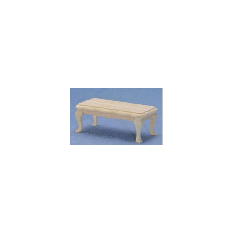 unfinished coffee table miniature living room furniture