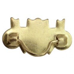 Brass Drawer Pulls, 10/PK