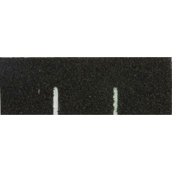 Black Square Asphalt Shingles, 177 Square Inches