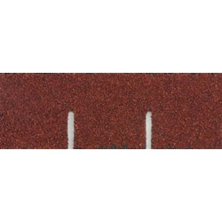 Red Square Asphalt Shingles, 177 Square Inches