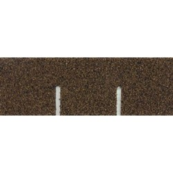 Brown Square Asphalt Shingles, 177 Square Inches