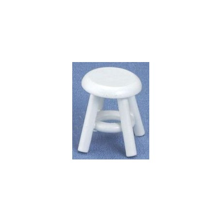 White Miniature Stool
