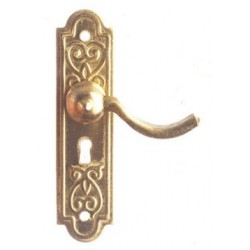 Door Lever Handle/Brass