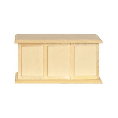 Store Counter Unfinished Dollhouse Miscellaneous Furnishings Superior Dollhouse Miniatures