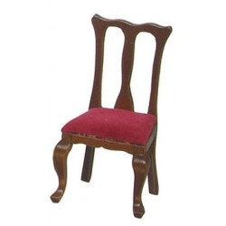 Q. A. Side Chairs/Red/Wal/4