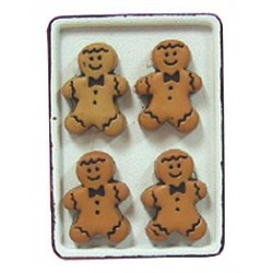 Gingerbread Men/Flow Cookie Sheet