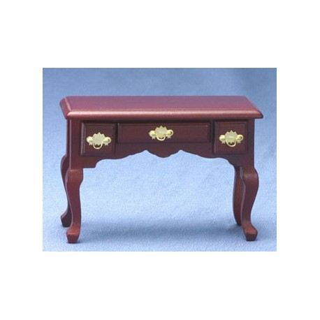 miniature mahogany office desk dollhouse office
