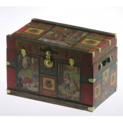 Lithograph Wooden Trunk Kit, Wonderland