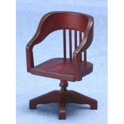 Desk Chair, Mahogany