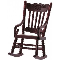 Gloucester Rocking Chair, Mahogany