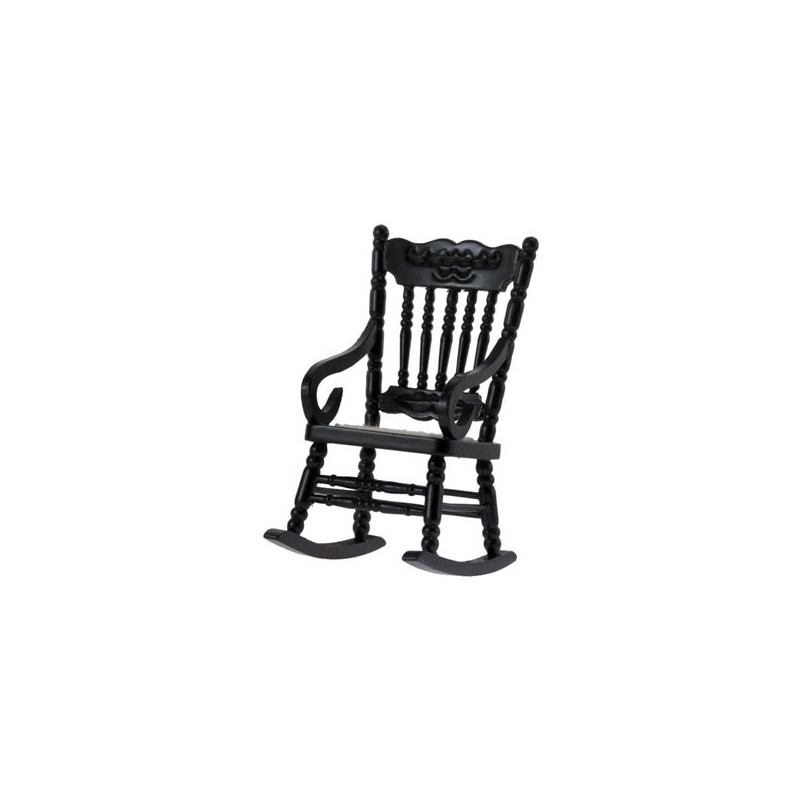 gloucester rocking chair  black