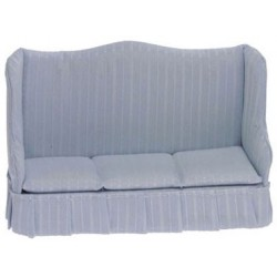 Sofa, Light Blue Stripe