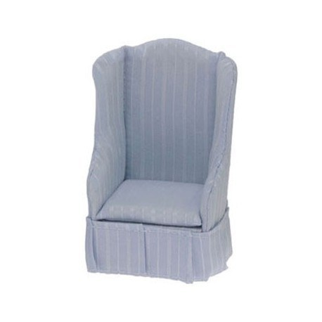 Chair, Light Blue Stripe