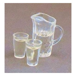 Water Pitcher w/2 Glasses