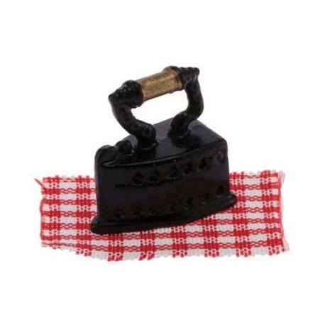 Iron with Fabric, 2pc