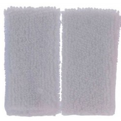 White Towel Set, 2pc