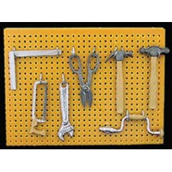 Peg Board With Tool Set
