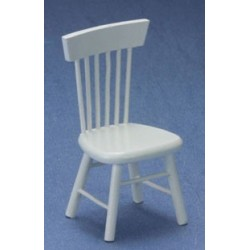 White Kitchen Chair