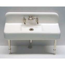 20's Sink - Chrome Legs