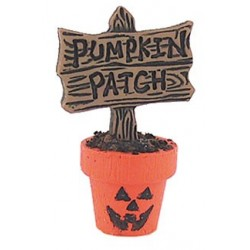 Pumpkin Patch Flower Pot