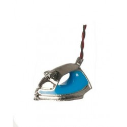 Modern Blue Steam Iron