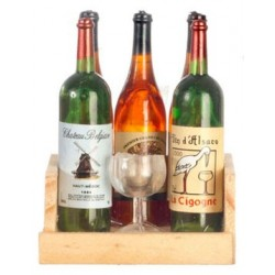 Wine Bottles/Glass/Rack/5