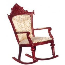 Rocking Chair, Mahogany