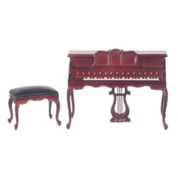Chopin Piano W/Stool/Mah