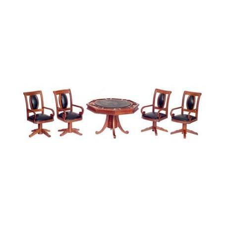 Gaming Table W/4 Chairs