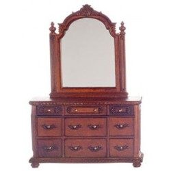 York Dressing Table W/Mir