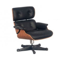 Lounge Chair/Eames/56/Blk