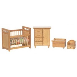 Nursery Set/4/Oak/Cs