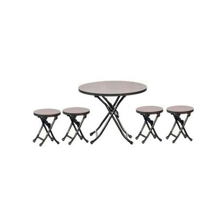 Folding Table/4 Stools/Wa