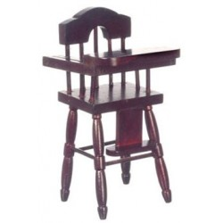High Chair/Mahogany