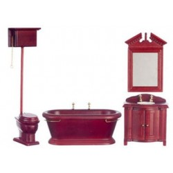 Old Fashioned Bath Set/4