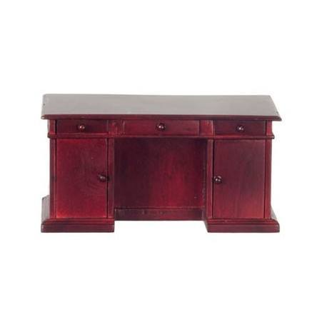 kneehole desk mahogany dollhouse office desks superior