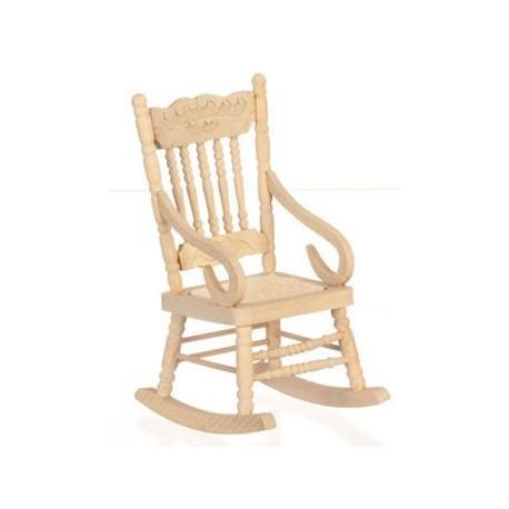 Exceptionnel Rocking Chair/Unfinished