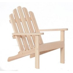 Adirondack Chair, Unfinished
